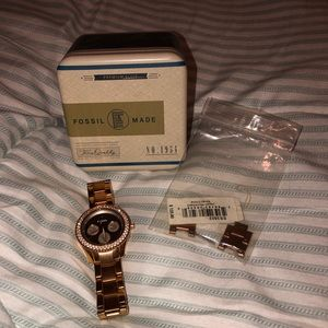 Fossil Watch Tags and box ncluded